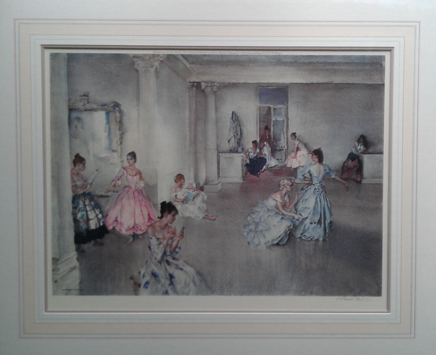 russell flint casual assembly print