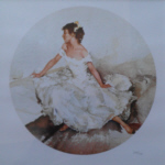 sir william russell flint Cecilia in April limited edition print
