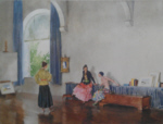 russell flint conversation piece