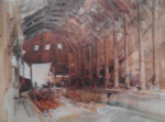 sir william russell flint Devonport Dockyard limited edition print