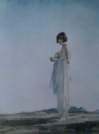 sir william russell flint eve the girl with bobbed hair