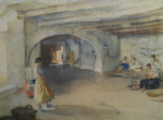 sir william russell flint festal preparations manosque