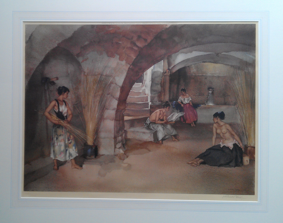 sir william russell flint signed limited edition prints
