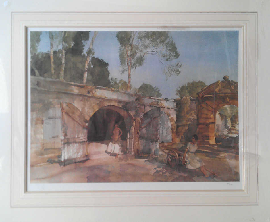 russell flint giselle and julietta print