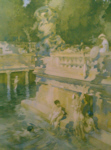 russell flint hedonists print