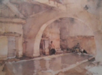 sir william russell flint La Belle Poseuse, Nerac limited edition print