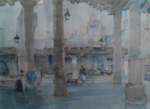 sir william russell flint market hall, cordes