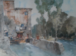 russell flint mill barbaste