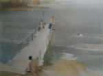 russell flint print northen waters