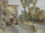 sir william russell flint  original watercolour paintings