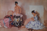 sir william russell flint Studio Accessories limited edition print