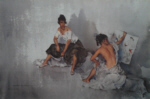 russell flint subject of two print