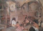 sir william russell flint Symposium at Lucenay limited edition print