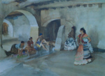 sir william russell flint unwelcome observers