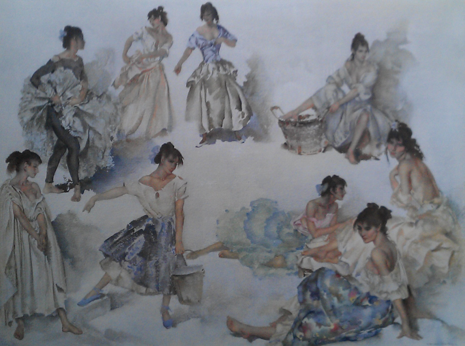 russell flint variations on a theme print