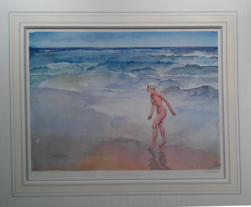 russell flint waves print