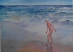 sir william russell flint waves signed limited edition print