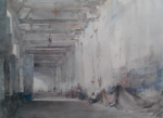 russell flint white interior